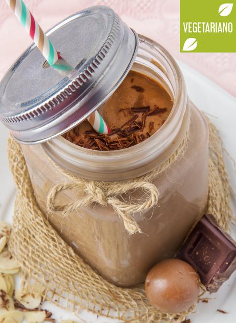 Batido de chocolate con coco