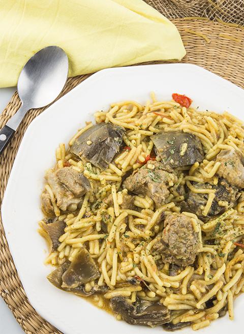 Receita de macarrão Casserole noodles