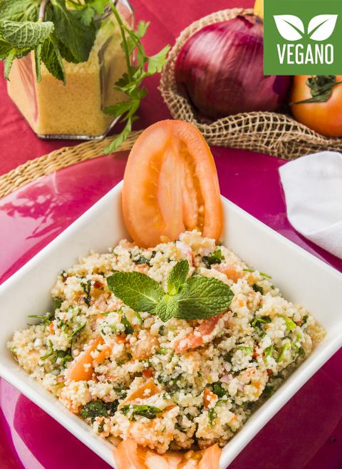 Gemüse-Tabbouleh